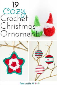 19 Cozy Crochet Christmas Ornaments