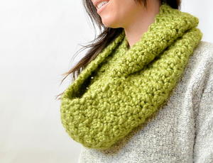 The Seasons Squish Scarf Pattern