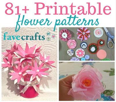 81 Printable Flower Patterns Favecrafts Com