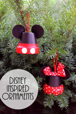 Mickey & Minnie: Disney Inspired Ornaments