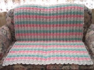 Babys First Crochet Blanket Pattern