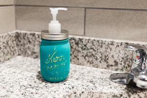 Soap Dispenser Mason Jar Craft