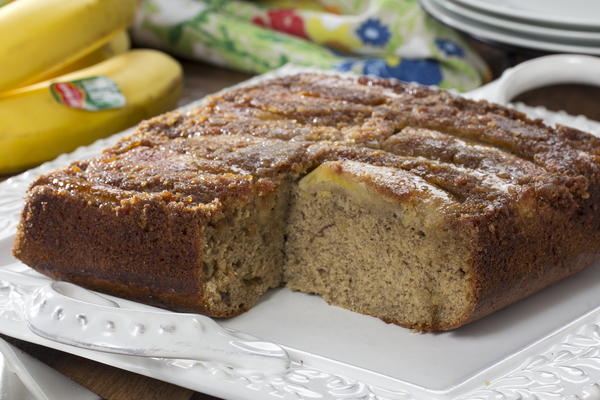 Upside-Down Banana Bread