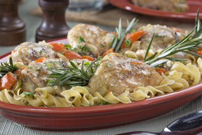Classic Chicken Fricassee