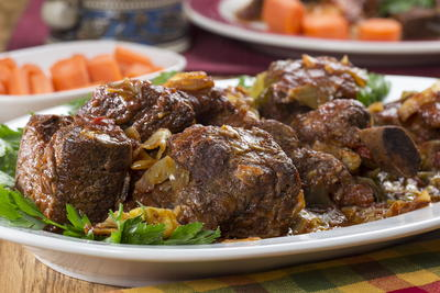 Slow Cooker Short Ribs and Cabbage