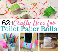 Toilet Paper Roll Crafts: 62 Uses for Toilet Paper Rolls