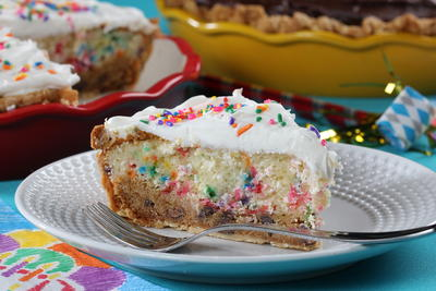 Cookie Cake Pie