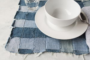Recycled Denim Placemats
