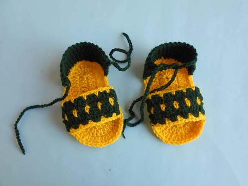 Crochet New Baby Sandal