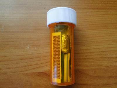 Pill Bottle Survival Kit
