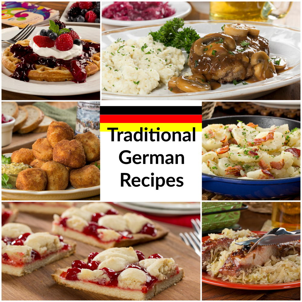 recipes German food