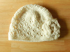 Crazy-Darling One Skein Crochet Hat
