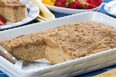 Streusel-Topped Coffee Cake