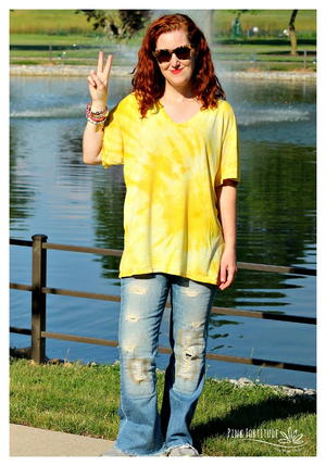 How to Tie Dye with Turmeric