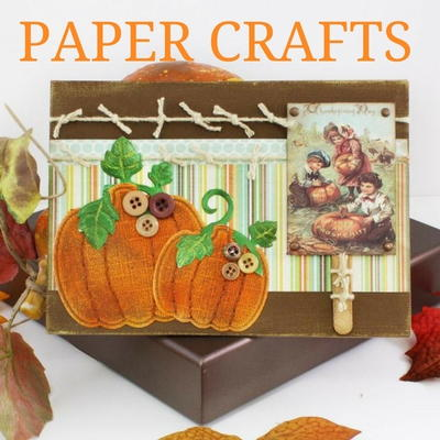6 Thanksgiving Crafts to Make with Paper