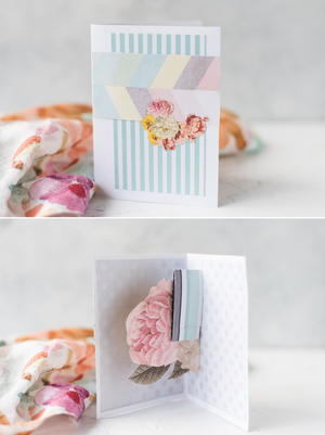 Prettiest Floral Pop Up Card Tutorial