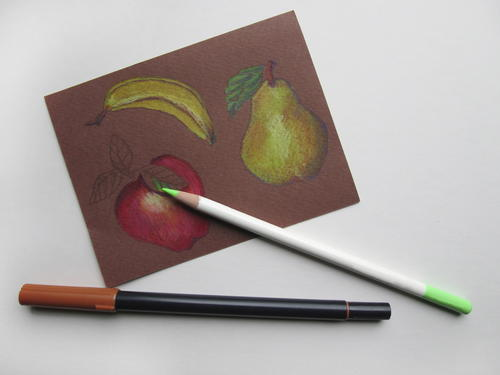Basic Colored Pencil Techniques for the Crafter