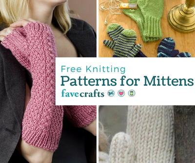 16 Free Knitting Patterns for Mittens