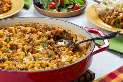 Moms Go-To Weeknight Goulash