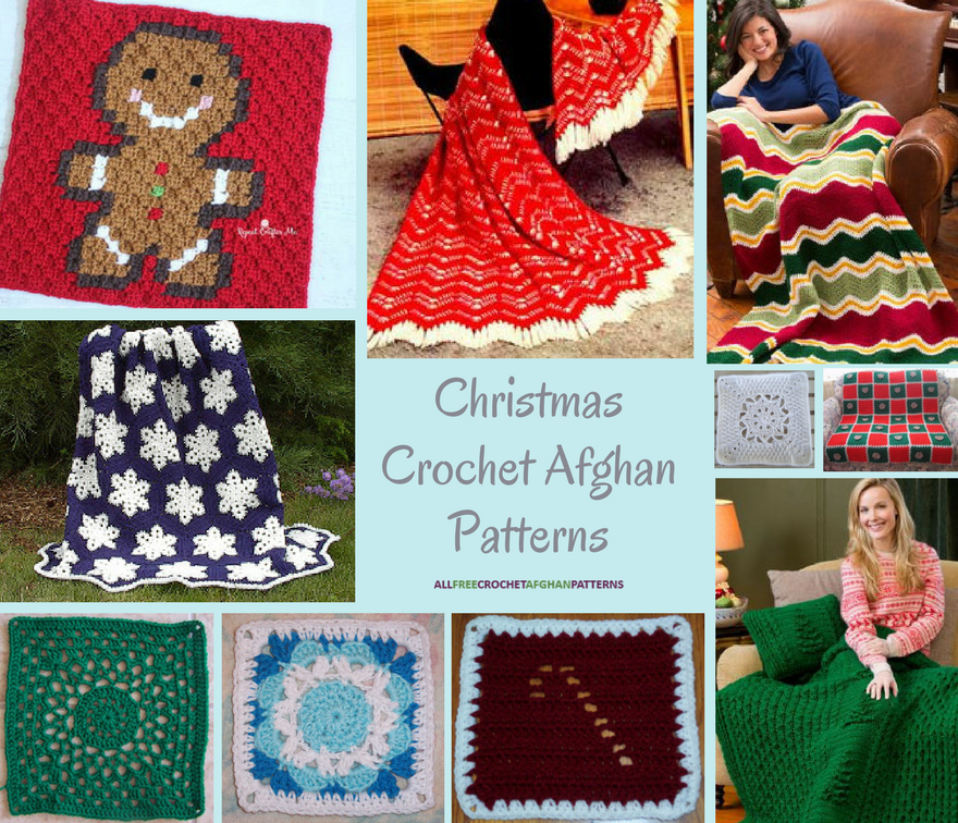 24 Free Easy To Crochet Afghan Patterns Dinocrofo