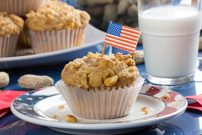Presidential Peanut Muffins