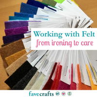 Can Felt Be Ironed? Working with Felt from Ironing to Care