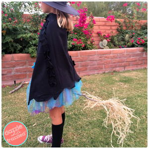 How to Sew a Witch's Cape