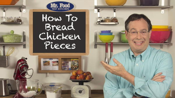 How To Bread Chicken Pieces