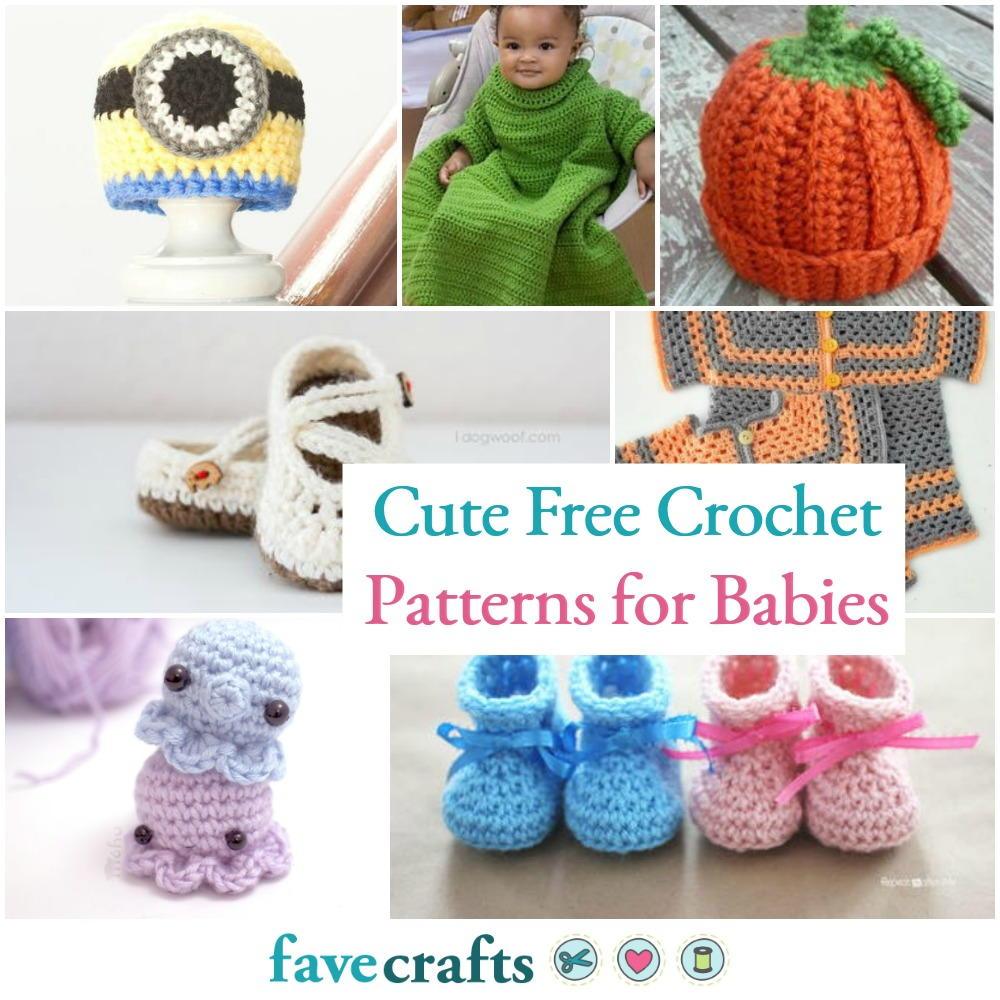 31 Cute Free Crochet Patterns For Babies Favecrafts