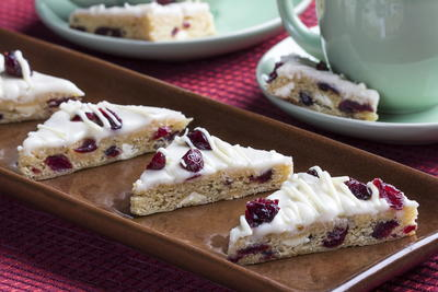 Coffee Shop Cranberry Bars