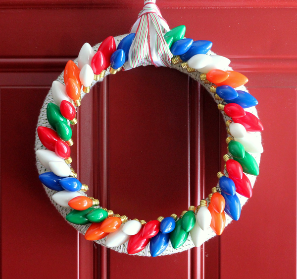 A Very Merry Twinkle Wreath