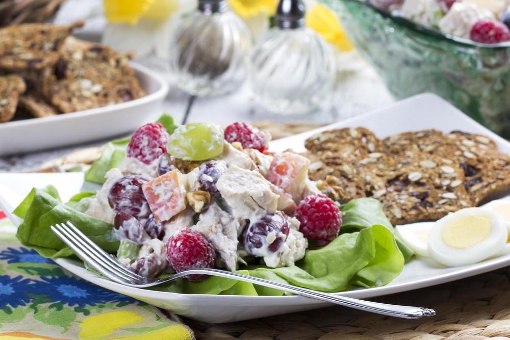 Berry Grape Chicken Salad Mrfood