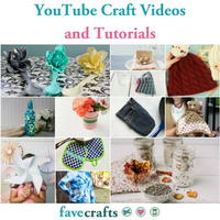 73 YouTube Craft Videos and Tutorials