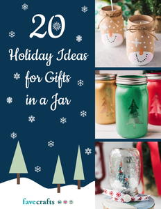 20 Holiday Ideas for Gifts in a Jar eBook