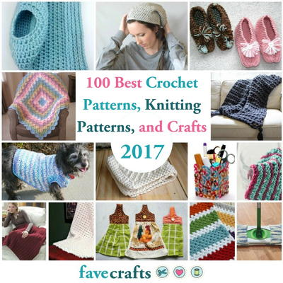 The 100 Best Crochet Patterns Knitting Patterns and Crafts of 2017