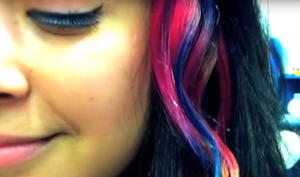 How to Tie Dye Your Hair
