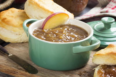 Slow Cooker Peach Butter