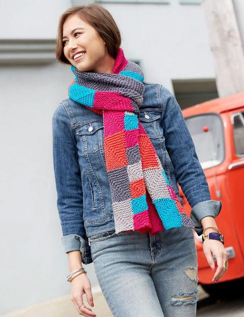Miter Me This Chic Knit Scarf