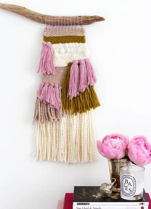 Chic Woven Wall Hanging