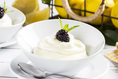 Easy Lemon Mousse