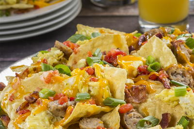 Fun-to-Share Breakfast Nachos