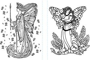 Fairyland Coloring Pages