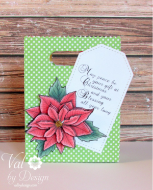 May Peace Be Christmas Card Rubber Stamps Idea