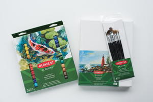 Derwent Artist Brush and Paint Set Giveaway