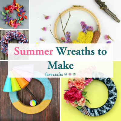 31 Summer Wreaths to Make