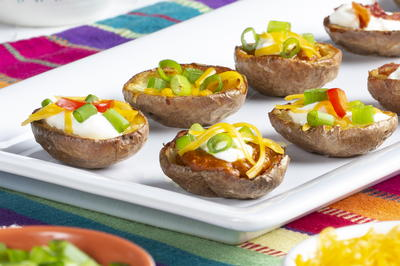 Make-Your-Own Potato Skin Bar