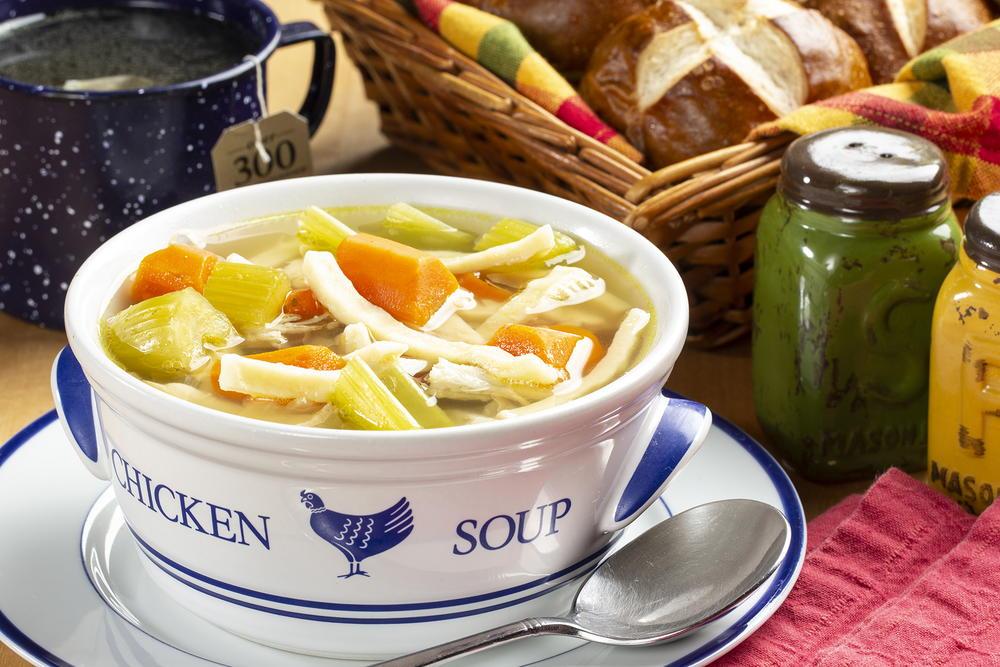Good Ol Chicken Noodle Soup Mrfood