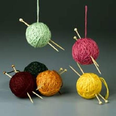 Ornament for Knitters