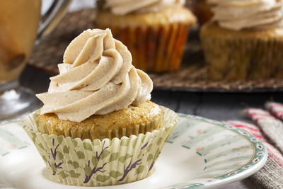Apple Cider Cupcakes