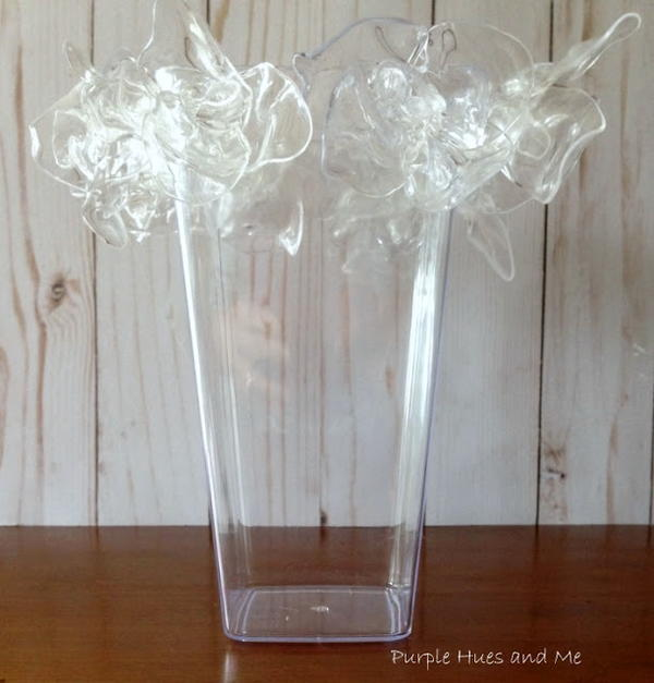 Dress Up a Plain Vase with Spoon Flowers